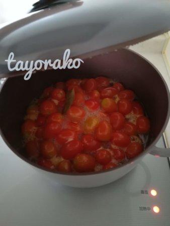 10分後のトマト