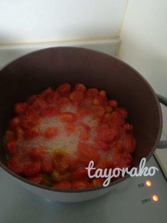 20分後のトマト