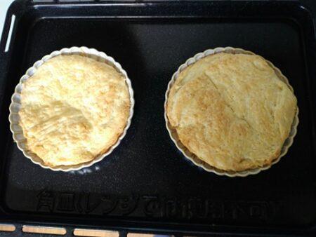 空焼きしたパイ
