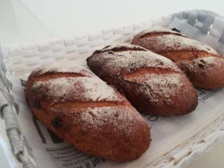 クランベリーのパン完成
