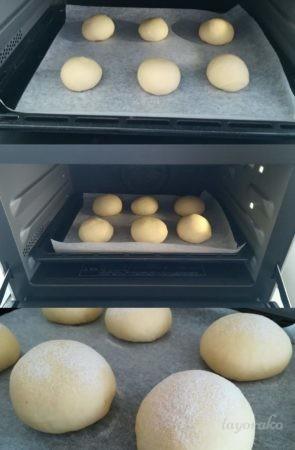 発酵から焼きあがり