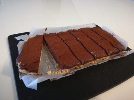 生チョコケーキ出来上がり