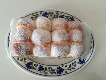 ちぎりパン完成