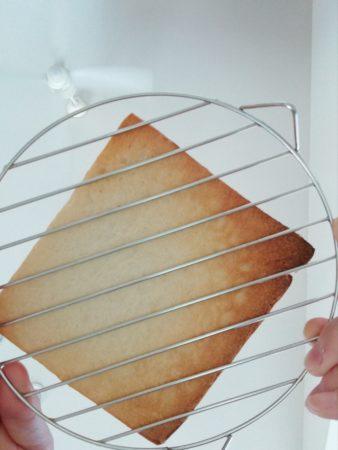 パンの裏側