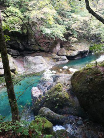 ブルーの川