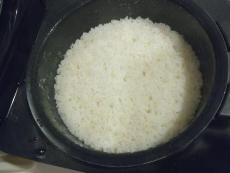 炭酸で炊いた米